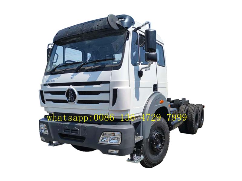 kenya beiben 2638 dump truck chassis