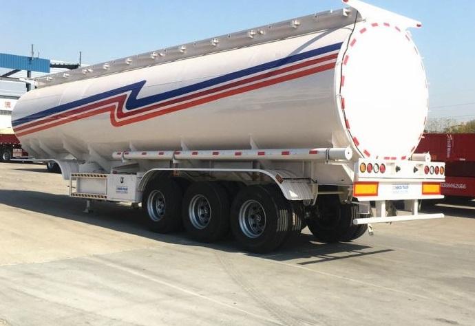 FUWA axle petrol fuel tanker semitrailer