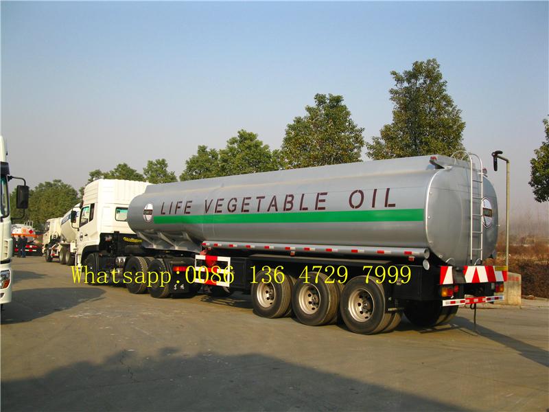 36000 Liters Petrol Tanker Trailers
