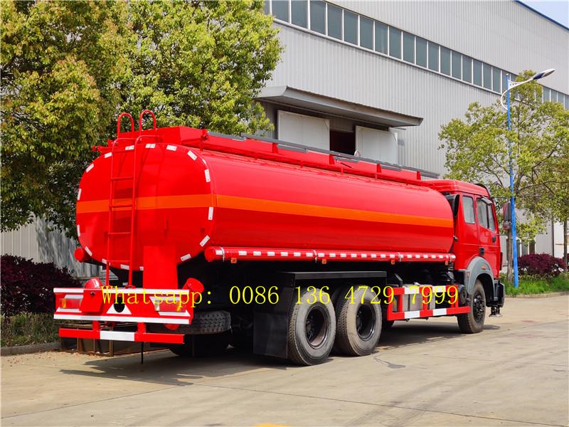 beiben oil tanker truck