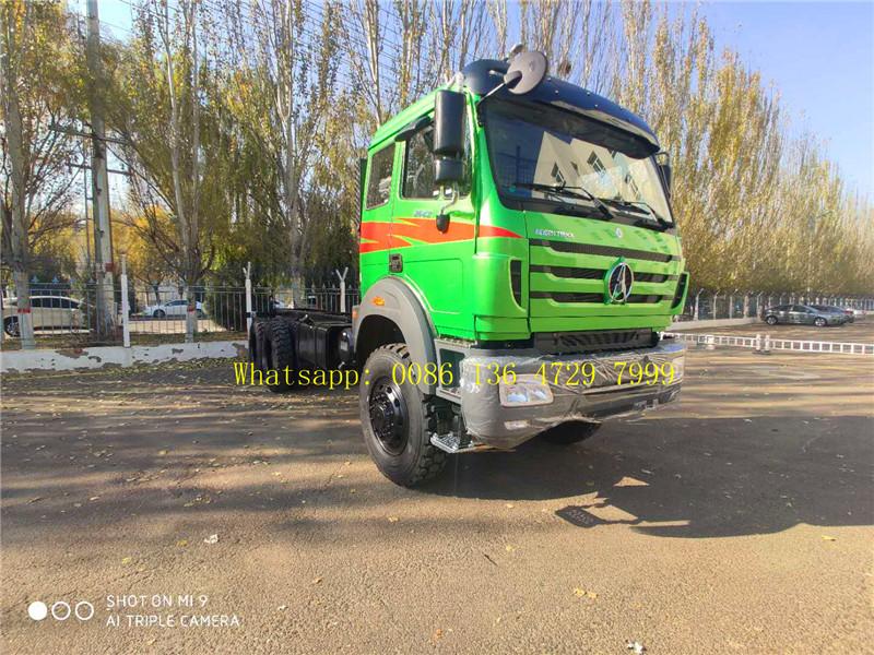 beiben 2642 off road truck