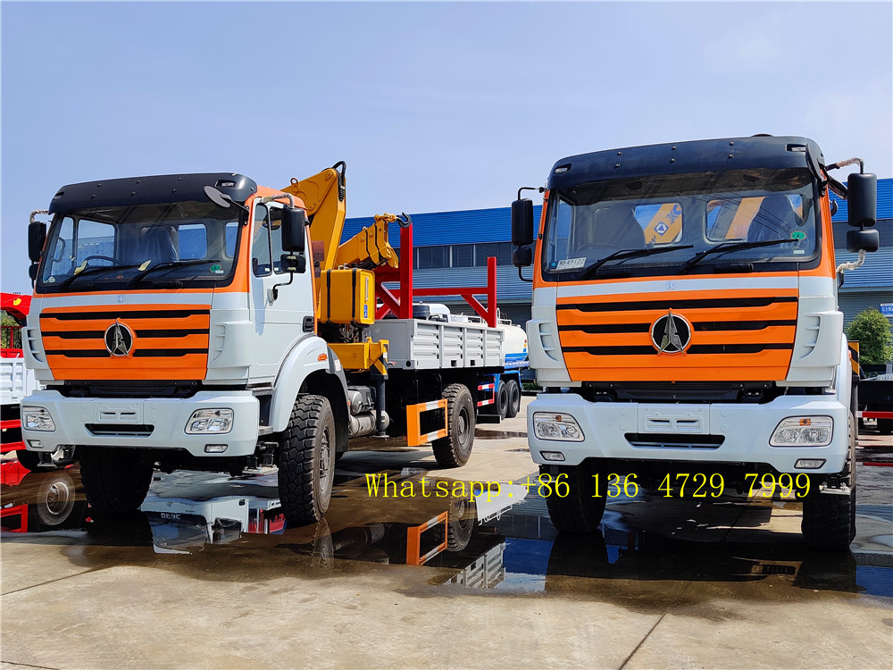 china beiben 4*4 drive truck