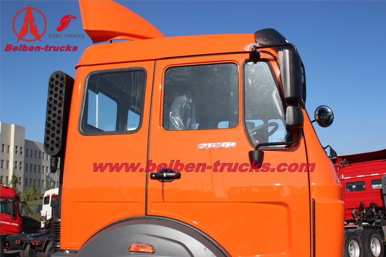 china beiben 2638 tractor truck manufacturers