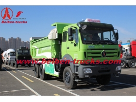 China beiben 300 hp dump trucks manufacturer