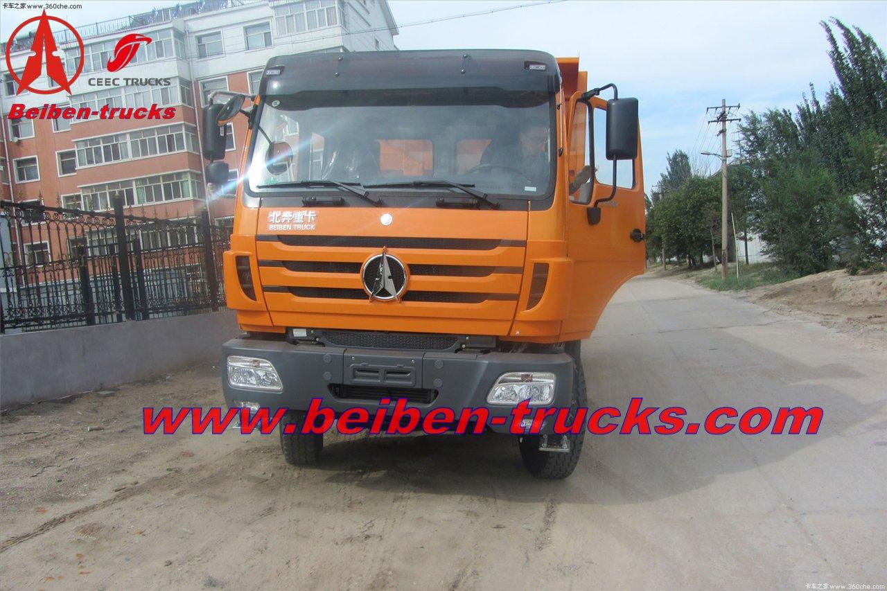 china Beiben 3138 dump trucks manufacturer