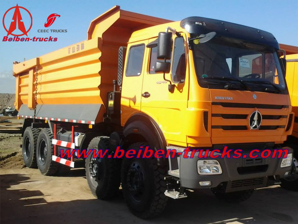 china Beiben 420 Hp 12 wheeler heavy truck