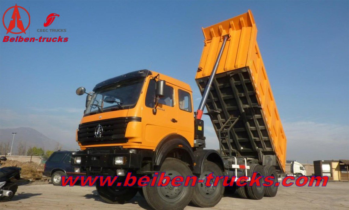 china beiben  12 wheeler 420 Hp dumpers
