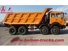 china beiben  12 wheeler 420 Hp dumpers