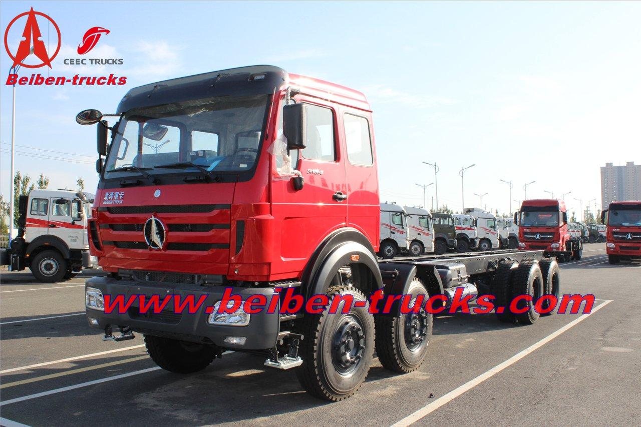 Durable Beiben V3 8X4 dumper truck manufacturer