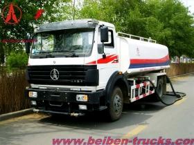 best beiben 10 CBM water tanker trucks