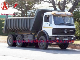 Power Star Beiben 6x4 tipper truck manufacturer