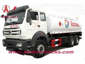 China beiben 20 CBM fuel truck manufacturer