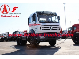 BEIBEN North Benz NG80 2538 6x4 380hp heavy trailer truck tractor head