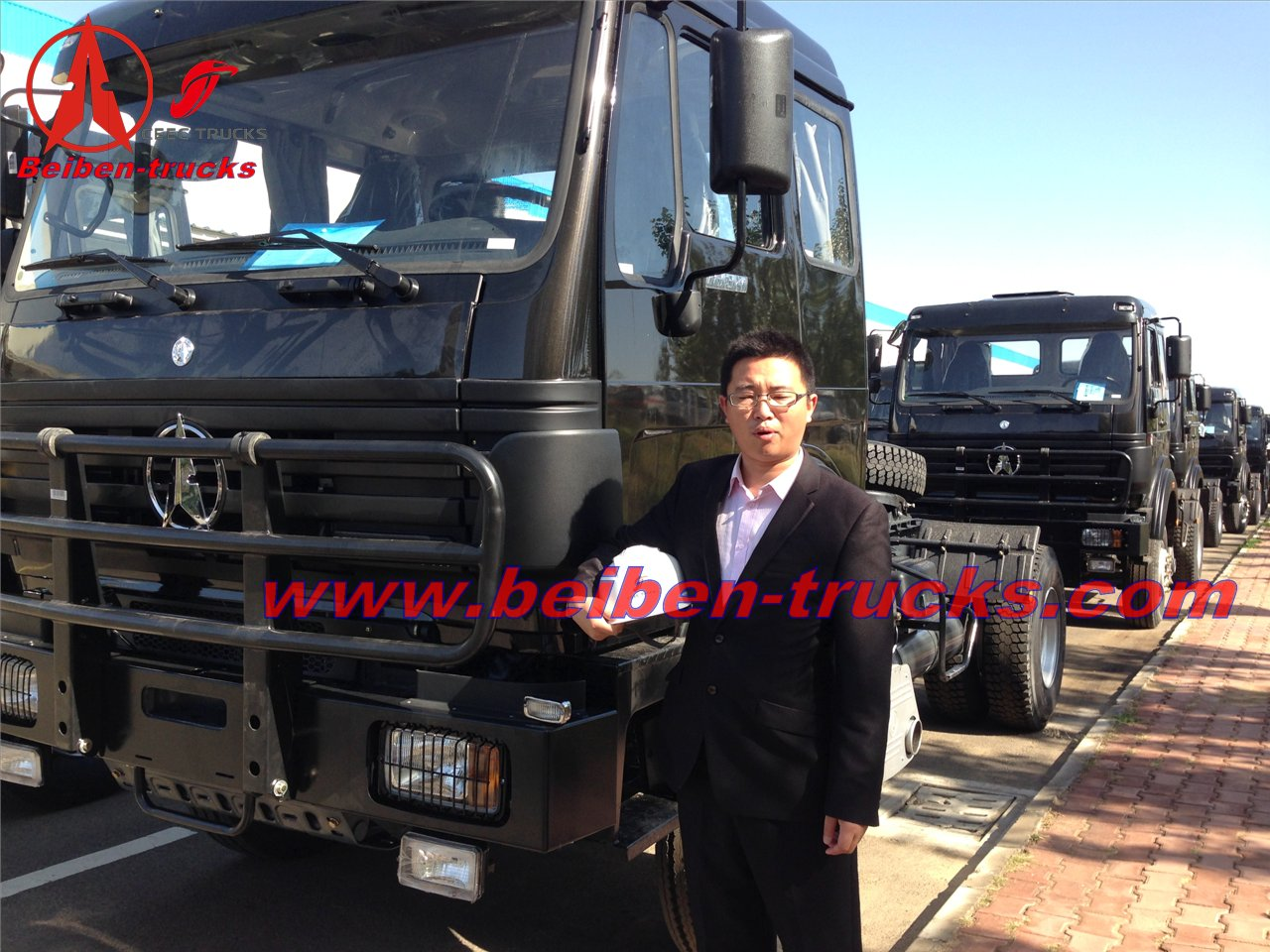 Beiben truck head good price China heavy truck manufacturer