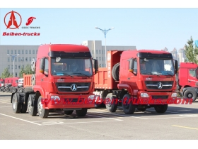 New BEIBEN North Benz V3 2540 6x4 400hp heavy trailer truck tractor head prime mover camion hot sale in Africa low price