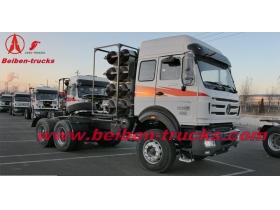 BEIBEN North Benz V3 2538 LNG 6x4 380hp heavy trailer truck supplier