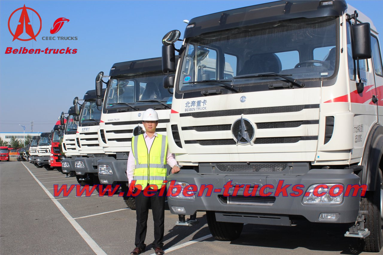 BEIBEN V3 6*4 tractor truck/camion tracteur 10 rouleurs manufactuer