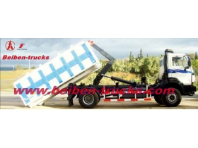 manufacturer for Beiben 4*2 hook lift truck