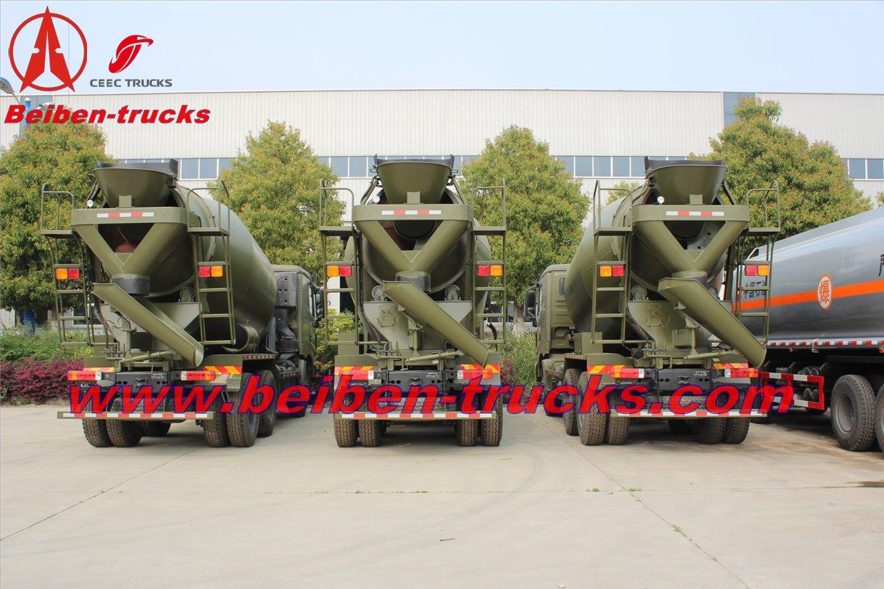 north benz V3 10 CBM mixer trucks manufacturer