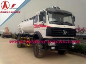 north benz 10 CBM vacuum tanker truck