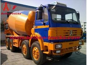 Beiben 8*4 14 CBM concrete mixer truck  supplier