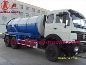 china beiben 15,000 L cesspit emptier manufacturer