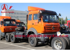 380hp Beiben truck head 6x4 drive for off road tractor
