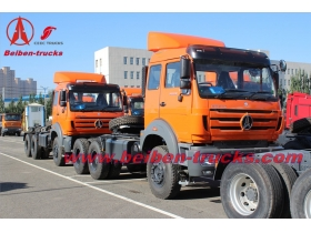 Beiben 2638 right hand drive tractor truck supplier