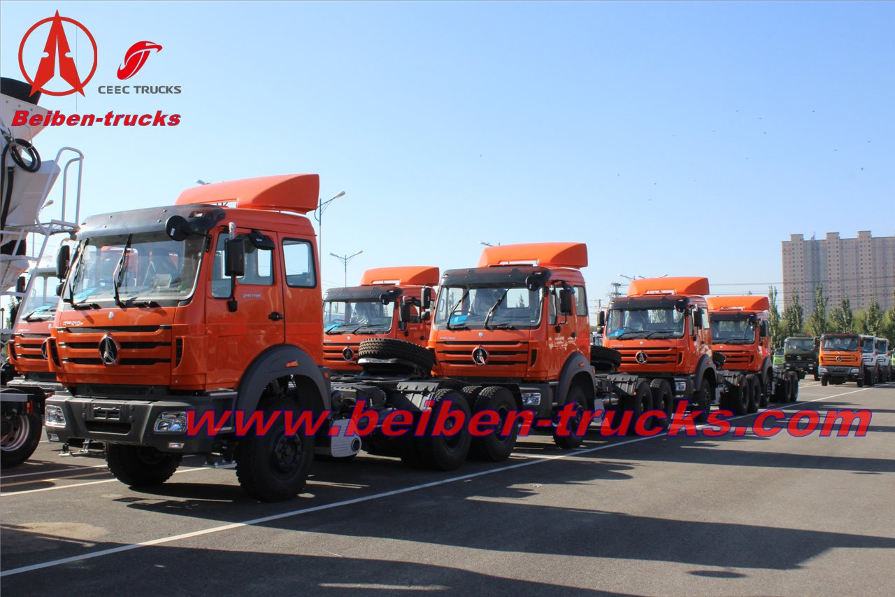 china BEI BEN TRACTOR TRUCK 400hp trailer truck head 10 wheels BEI BEN TRACTOR TRUCK 400hp trailer truck head 10 wheels supplier