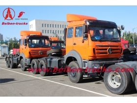 Beiben tractor truck 2636S north benz truck head supplier