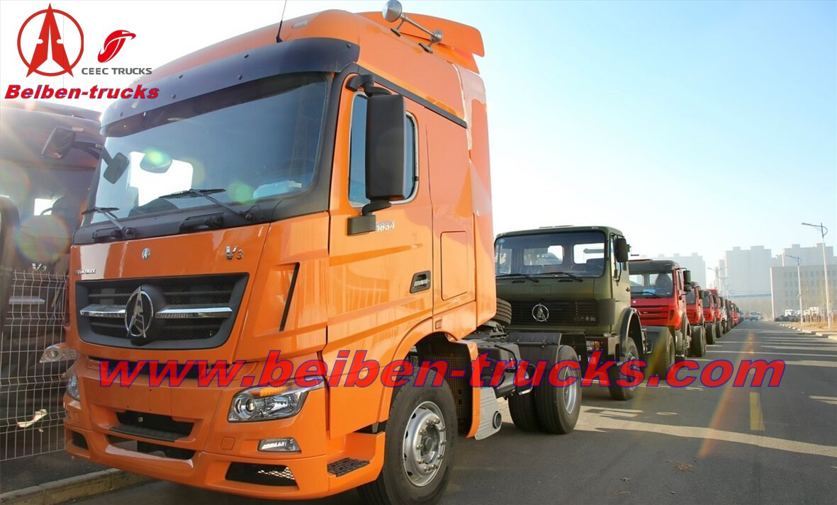 africa Beiben V3 tractor NORTH BENZ  supplier