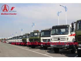 best price for China Beiben 10 wheels prime mover 340hp tractor truck