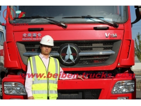 baotou New BEIBEN North Benz V3 2538 6x4 380hp tractor head prime mover camion low price heavy trailer truck