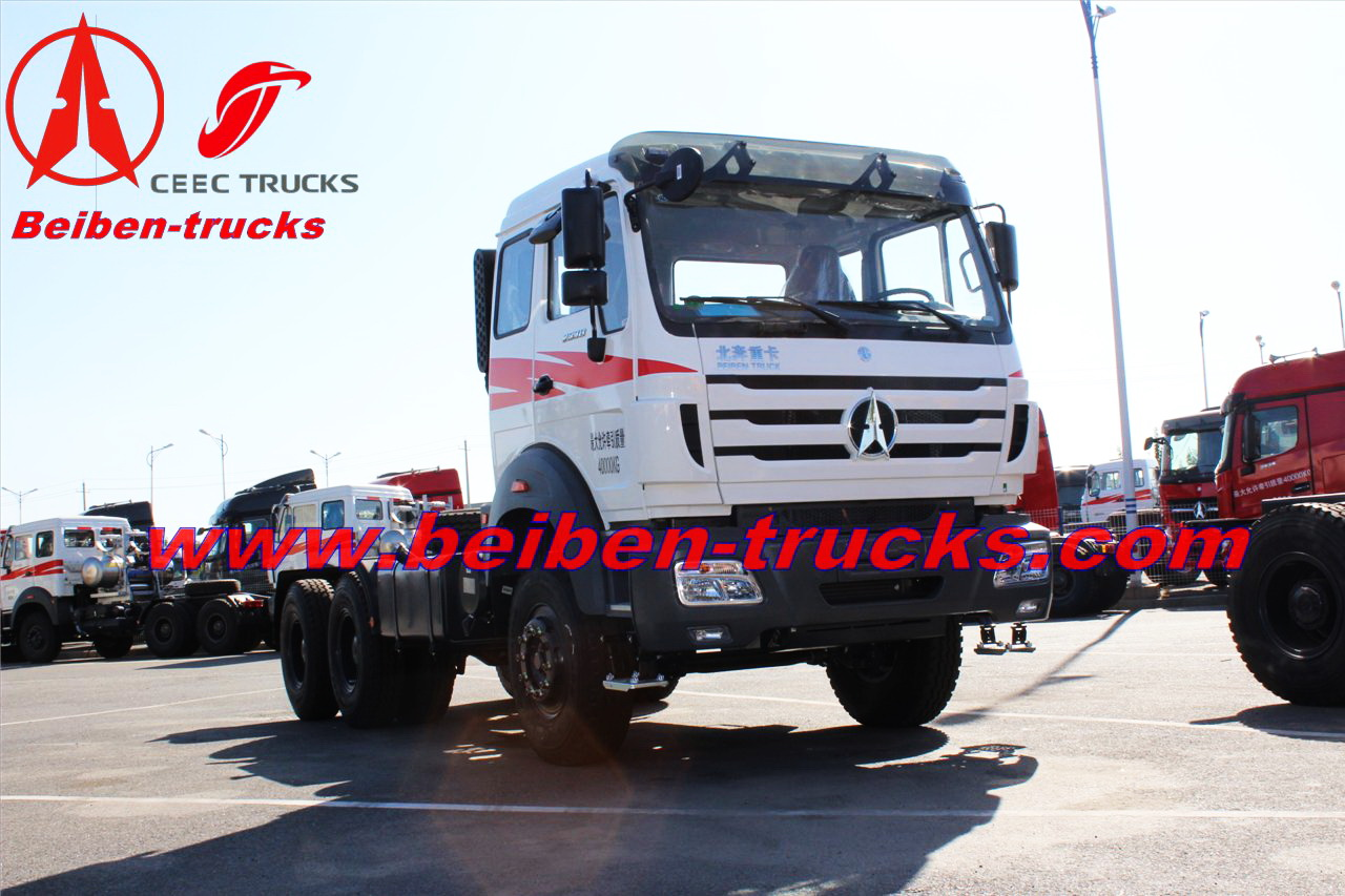 china North benz haulage prime mover 2642S 420hp tractor truck