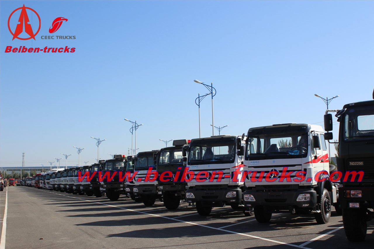 BEIBEN military 4x2 two wheel drive TOWING TRUCK manufacturer