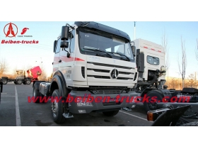 china Beiben V3 380hp CNG tractor truck supplier