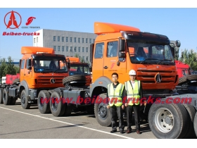 Mercedes Benz China Beiben tractor truck 10 roues camion tracteur  supplier