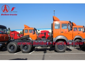 North Benz 10 wheel truck Beiben tractor for congo country