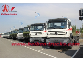 congo RHD tractor truck North Benz 380hp prime mover 10 wheels truck head