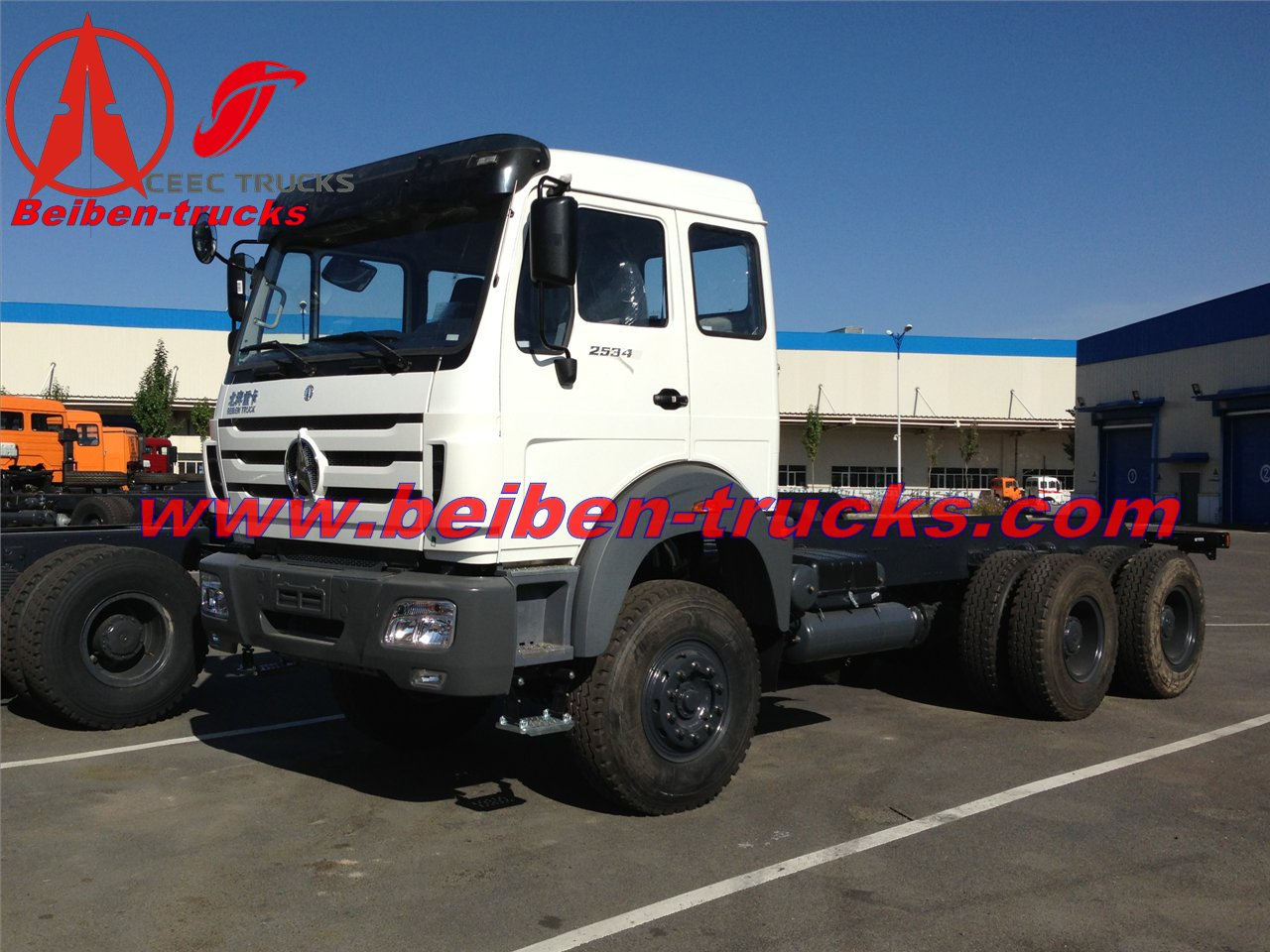 best price for Beiben 420hp truck tractor 10 wheel heavy tow truck