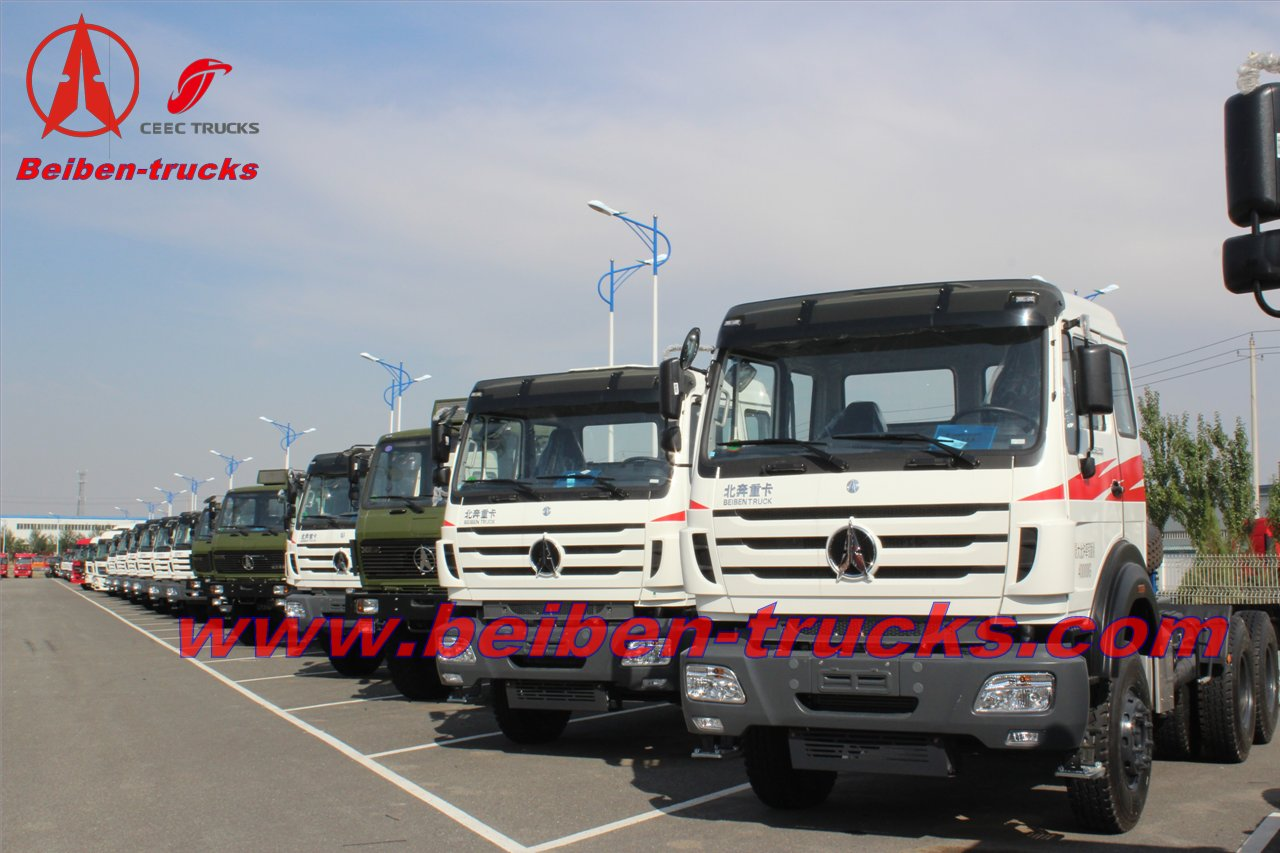 baotou north benz heavy load tractor truck