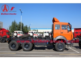 BEIBEN 10 roues camion-tracteur/tractor truck supplier for congo
