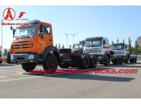 Powerful Beiben 6X4 Heavy Duty tractor truck 10 Wheeler Trucks  supplier in china