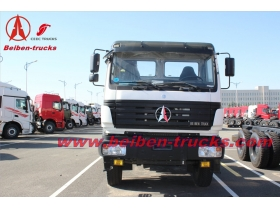 china Beiben 10 wheeler tractor truck North Benz 2538S 380hp truck head
