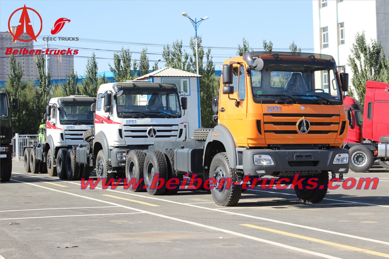 right hand drive Beiben tractor truck for Thailand price