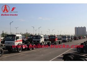 congo Beiben truck 2638 380hp truck head for container transport  price