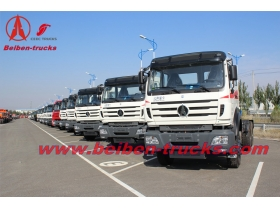 Hot sale Beiben V3 6 wheeler prime mover 290hp tractor truck supplier
