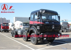 Militaty quality tractor truck Beiben heavy truck head for Africa  from china baotou