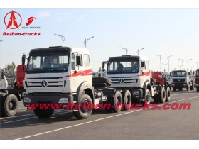 congo Beiben tractor truck 2638 North Benz 380hp prime mover 10 wheel truck head