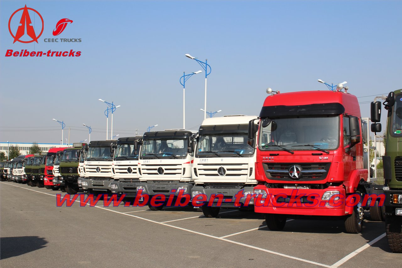 2638KY Beiben Tractor Truck manufacturer in china